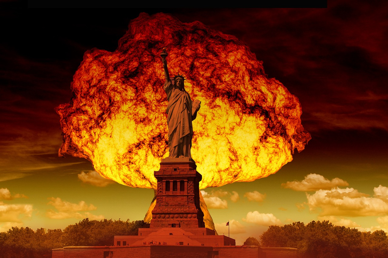 Image result for public domain image of nuclear war begins